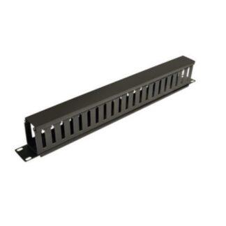 Organizador horizontal 80x80 para rack