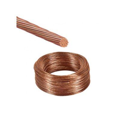 Cable en cobre desnudo
