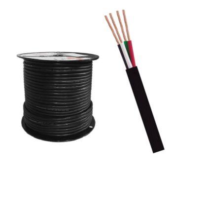 Cable encauchetado 4 conductores